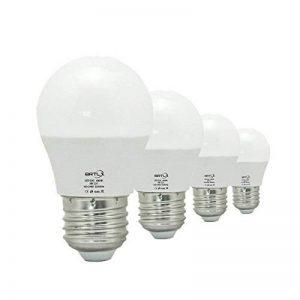 BRTLX Ampoules LED Standard Culot E27, 3W équivalent 25W, Blanc Froid 6000K, Dépolie, Lot de 4 de la marque BRTLX image 0 produit