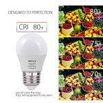 BRTLX Ampoules LED Standard Culot E27, 5W équivalent 45W, Blanc Chaud 3000K, Dépolie, Lot de 4 de la marque BRTLX image 3 produit