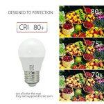 BRTLX Ampoules LED Standard Culot E27, 5W équivalent 45W, Blanc Froid 6000K, Dépolie, Lot de 4 de la marque BRTLX image 3 produit