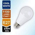 BTEK® (pack de 5) E27 vis Edison 12W (75W ampoule à incandescence équivalente) LED Non-dimmable ampoule,, blanc froid givré avec 5 ans de garantie de la marque BTEK image 1 produit