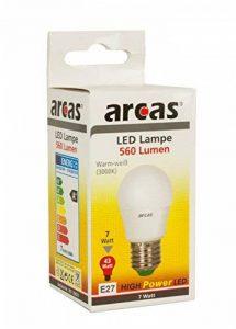 Camelion 39720021 LED Ampoule Économique, Verre, E27, 43 W, Blanc de la marque Camelion image 0 produit