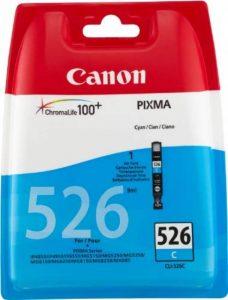 Canon CLI-526 C Cartouches séparées pour Imprimante jet d'encre iP4850/MG5150/5250/6150/8150 Cyan de la marque Canon image 0 produit