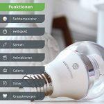 CARUS 1016455A +, ampoule LED, plastique, 8watts, E27, Blanc, 6x 10, 8cm de la marque Carus image 3 produit