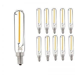 Century Light - T20 E14 1W Ampoule Filament LED - 2200K Blanc Chaud 100lm - Équivalent 10W - Angle de Faisceau 360° - Non-graduables - Lot de 10 [Classe énergétique A++] de la marque Century Light image 0 produit