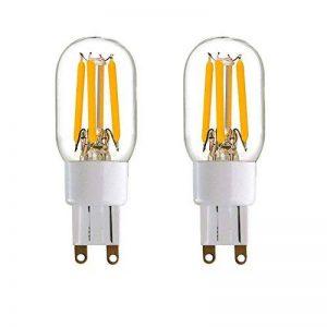 Century Light - T20 G9 2W Ampoule Filament LED - 2700K Blanc Chaud 200lm - Équivalent 20W - Angle de Faisceau 360° - Non-graduables-- Lot de 2 de la marque Century Light image 0 produit