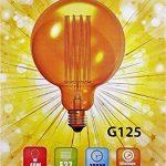 Cflagrant® Grosse Ampoule Rétro XXL Vintage à Incandescence Lampe Edison 40W 220V G125 (∅12,5cm) E27 Lumière Chaude Utilisable sans Abat Jour de la marque Cflagrant image 1 produit