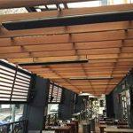 Chauffage Infrarouge Long 1000W Radiateur IR sans lumière avec boîtier en aluminium pour l'intérieur et les espaces extérieurs couverts Longueur 60 cm de la marque MPCSHOP image 3 produit