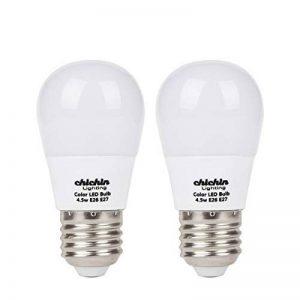 ChiChinLighting 2-pack ampoules à basse tension 12V LED E26ampoules LED Ampoule LED 12V 5W Blanc doux 3000K Ampoule 40W équivalent, Blanc clair, Lot de 2, E26 5.00 watts 5.00 volts de la marque ChiChinlighting image 0 produit