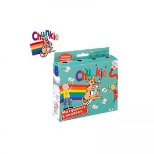 Chunkie Lot de 4 Marqueurs effaçables Compact Fluorescent de la marque Chunkie image 0 produit