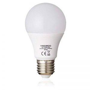 Éclairage avec LED–Ampoules lumière naturelle 8W en E27A60Cool White 6000K/3000K Blanc Chaud, AC 220–240V, 700Lumens W Ampoules à incandescence ampoule [– Classe énergétique A + +., Cold White, E27, 8.00 wattsW, 220.00 voltsV de la marque YINGWOO image 0 produit