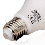 Éclairage avec LED–Ampoules lumière naturelle 8W en E27A60Cool White 6000K/3000K Blanc Chaud, AC 220–240V, 700Lumens W Ampoules à incandescence ampoule [– Classe énergétique A + +., Cold White, E27, 8.00 wattsW, 220.00 voltsV de la marque YINGWOO image 4 produit