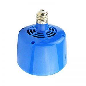 Climatiseur de réchauffeur d'animaux de 220v 3 LED pour le chauffage de poulets pour des porcs Réglable dans l'équipement de chauffage de trois vitesses 100W 200W 300W pour de petits animaux (la version améliorée est en bleu) de la marque Zaote image 0 produit