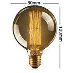 CMYK® Ampoule Vintage Edison Standard 60 mm - Ampoule Deco Design Retro Vintage Incandescence--Lot de 6 de la marque CMYK image 1 produit