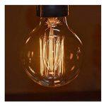 CMYK® Ampoule Vintage Edison Standard 60 mm - Ampoule Deco Design Retro Vintage Incandescence--Lot de 6 de la marque CMYK image 2 produit
