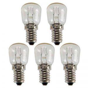 Com-Four Lot de 5ampoules ampoule de four E1415W 230V 58x 25mm, blanc chaud de la marque com-four image 0 produit