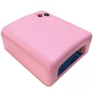 Crisnails® 36W Lampe UV Sèche-Ongles pour Manicure Gel Vernis Permanent 818-SK rose de la marque Crisnails ® image 0 produit