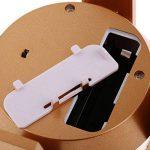 D DOLITY Présentoir Rotatif Porte-bijoux LED Lumière Energie Solaire ou Batterie de la marque D DOLITY image 3 produit