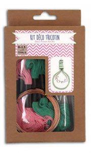 D.I.Y with Toga Kit Tricotin Ampoule, Autre, Multicolore, 11 x 19 x 3 cm KRD100 de la marque Toga image 0 produit