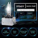 D1S HID Ampoule Lampe Xénon Phare 10000K, 12V 35W, Pack of 2 de la marque CAR ROVER image 1 produit