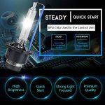 D2S HID Ampoule Lampe Xénon Phare 10000K, 12V 35W, Pack of 2 de la marque CAR ROVER image 1 produit