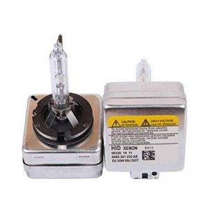 D3S Ampoule HID Xénon Lumière Phare Lampe de Remplacement pour Voiture 12V 35W 2 Pièces (4300K-Blanc d'origine) de la marque BRL image 0 produit