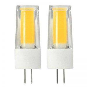 daskoo Lot de 2NE Scintille pas G45W = 40W blanc chaud LED Lumière Céramique + PC 1x COB 5W AC/DC 12V de la marque DASKOO image 0 produit