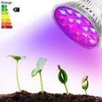 Derlights LED élèvent la lumière 120W, pleine usine de spectre élèvent l'ampoule, 36 pcs LED SMD 3030 éclats culot E27, élèvent la lampe pour la croissance d'intérieur usine de serre chaude de serre usine de la marque Derlights image 4 produit