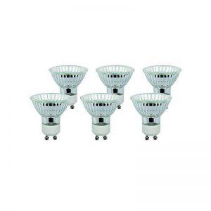 Diall - Lot de 6 Ampoules halogènes GU10 Spot 40W Blanc chaud ( livraison gratuit ) de la marque DIALL image 0 produit