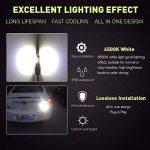 Diesel Auto 2 x H1 LED Brouillard Lampe Voiture Anti-Brouillard CSP Puces LED Ampoule 80W/chaque Ampoule 800LM/chaque Ampoule LED 6500K Blanc Froid - 2 Ans de Garantie. de la marque Diesel Auto image 2 produit
