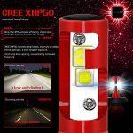 Diesel Auto 9600LM H4/9003/HB2 LED Ampoule Voiture 60W 6000K Lampe Kit LED Cree Blanc Phare 12V/24V - 3 an de garantie (ensemble de 2 ampoule led). de la marque Diesel Auto image 2 produit