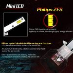 Diesel AutoZone H1 Led Ampoule de Phare w/Philips Chips 9600LM 50W 6000K Blanc Froid, H1 Led Kit de Lampe pour Voiture -Remplacement des Ampoules Xenon(2pcs) de la marque Diesel AutoZone image 3 produit