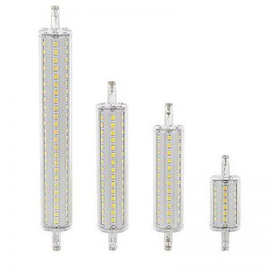 Dimmable R7s LED Maïs 2835SMD 78mm 118mm 135mm 189mm lumière 7W 14W 20W 25W pour remplacer ampoule halogène AC 85–265V Projecteur, blanc, 14w 118mm de la marque hntoolight image 0 produit