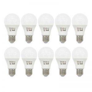 Diolumia - Lot de 10 Ampoules LED Standard E27 (Grosse Vis) - Consommation 10W - Equivalent 80W - Blanc Lumière du jour 5000K - 900lm - Angle de Diffusion 270° - SMD2835*10 - Durée de vie 25 000h - IRC>80 - Sans Scintillement - AC85-265V [Classe énergétiq image 0 produit