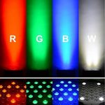 DJ PAR Lumières 54X3W RGBW LED Scène Lumières DMX 512 Éclairage de Scène pour DJ Fête de Mariage Église Concert Danse Scène Musique Événements de la marque Seven Stars image 1 produit