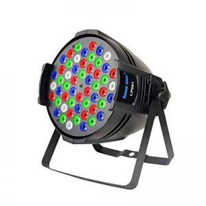 DJ PAR Lumières 54X3W RGBW LED Scène Lumières DMX 512 Éclairage de Scène pour DJ Fête de Mariage Église Concert Danse Scène Musique Événements de la marque Seven Stars image 0 produit