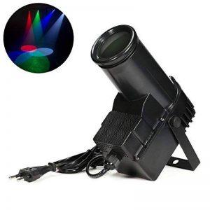 Donner® Projecteurs à effets pour scène DMX 10W Lampe LED de Scène Projecteur Lumière de scène 4 Couleurs de la marque Donner image 0 produit