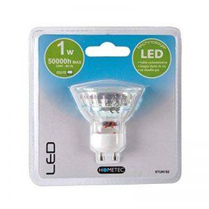 E=M6 6TUN182 Réflecteur avec 15 LED's GU10 Verre Blanc 1 W de la marque E=M6 image 0 produit