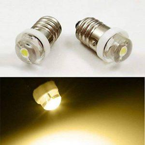 E103V 4,5V 6V 0,5W 0,75W 4300K chaud Ampoule LED Lampe torche Phare de travail Lampe frontale lampe de poche outils de travail, 4 pièces, 4.5V de la marque EIYYRELED image 0 produit