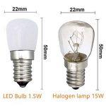E14 ampoule LED / [2 paquets] SFTlite E14 SES ampoule pygmée LED 1.5W 120LM ampoules LED d'économie d'énergie avec Super Bright Cool White petite vis Edison LED lampes [Equivalent à 15W ampoule halogène - 220-240V AC non dimmable] E14 LED pygmée ampoule d image 3 produit