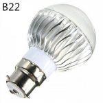 E14 GU10 B22 E26/E27 Ampoules Globe LED A60(A19) 1 diodes électroluminescentes LED Haute Puissance Intensité Réglable Commandée à ( Connecteur : E14 , Couleur de source : RGB ) de la marque Ampoules LED image 2 produit