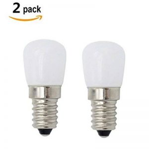 E14 SES LED lampe Cool blanc 6000K 2W AC 220-240 volts, 15 watts équivalent petit Edison à vis LED pygmée ampoule pour réfrigérateur, four micro-ondes cuisinière hotte Sewing Machine 2-packs de la marque ZSZT image 0 produit