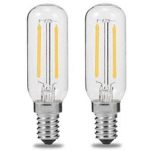 E14 T25 LED 2W hotte ampoule, 250lm, 40 W Ampoule à incandescence de remplacement, Luohaoshi Edison Ampoules à filament, Blanc jour 6000 K, non dimmable, Lot de 2 de la marque luohaoshi image 0 produit