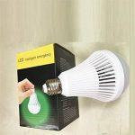 E27 Ampoule LED Urgence Intelligente Lampe Veilleuse Rechargeable 3000k Jaune de la marque Générique image 2 produit