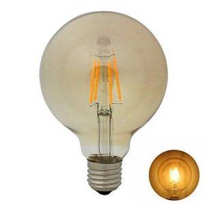 E27 G95 Rétro Edison Ampoule de LED Filament Lampe Antique Vintage - 4W / 300LM - Non-Dimmable - Blanc Chaud 2300K - Équivalent 30W de la marque Garselis image 0 produit