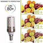 E27 LED Ampoules 12W Équivalent à Ampoule Halogène 80W / 823lm Blanc Froid 6000K - lot de 6 de la marque AWE-LIGHT image 1 produit