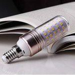 E27 LED Ampoules 12W Équivalent à Ampoule Halogène 80W / 823lm Blanc Froid 6000K - lot de 6 de la marque AWE-LIGHT image 2 produit