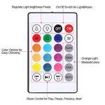 E27 LED Musique Ampoule 18W RGB Flammes Lumière Colorée Bluetooth Haut-Parleur avec 24 Touches Télécommande Sans Fil de la marque Fdit image 3 produit