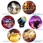 Eclairage de Scène Lumière Fête, Adorishe 7 Couleurs Disco Lumiere 6W Lampe de Scène RGB LED Effet Anniversaire Lumière Ampoule Boule Cristal pour Bar, DJ Disco, Club, Halloween, Party, Enfants(2 pcs) de la marque Adorishe image 4 produit