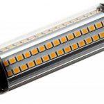 ECOBELLE® 1 x Ampoule LED R7S 10W 1250 Lumen Dimmable, Couleur Blanc Chaud 3000K, 118 mm (Ampoule R7s Flexible, Culot 6mm), 270 Degrés de la marque Ecobelle image 3 produit