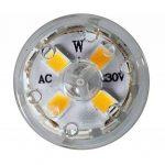 ECOBELLE 10 x Ampoules Haute Puissance LED G9 5W 650 Lumen (Equivalent 50W), Couleur Blanc Naturel 4000k, Size: 1.86 x 6.3 cm, 360°, Flicker Free de la marque Ecobelle image 4 produit